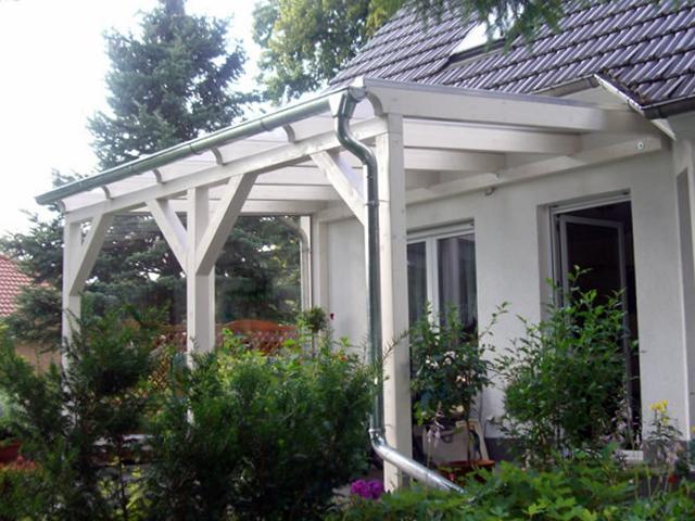 Terrassenuberdachung Aus Holz Glas Leimholz Alu Bauen Novum