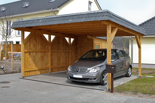 fachwerk exklusiv holz leimholz carports angebot novum carport. Black Bedroom Furniture Sets. Home Design Ideas
